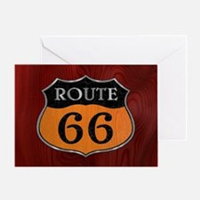rt66-woodsteel-OV Greeting Card