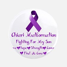 """Fighting For My Son 3.5"""" Button"""