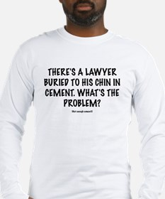 """Lawyers """"Cement"""" Long Sleeve T-Shirt"""