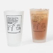 Thanks, But No Thanks Drinking Glass