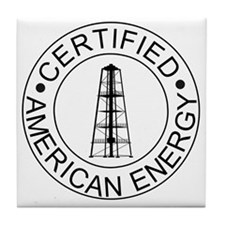 Certified American Energy Pro-Drillin Tile Coaster