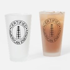 Certified American Energy Pro-Drill Drinking Glass