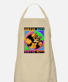 Tortie Kitty Cat Graphics Apron