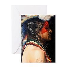 Lakota Magnet Greeting Card