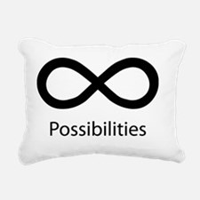 INFINITE POSSIBILITIES Rectangular Canvas Pillow