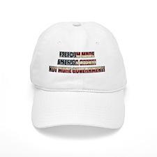 Freedom Not Government WF Baseball Cap