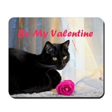 Valentines kitty Mousepad