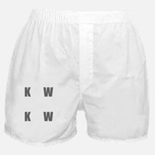 Know Pain Gain Boxer Shorts