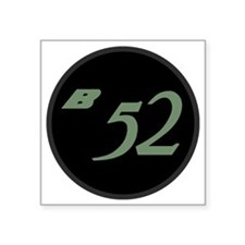 "B-52 Square Sticker 3"" x 3"""