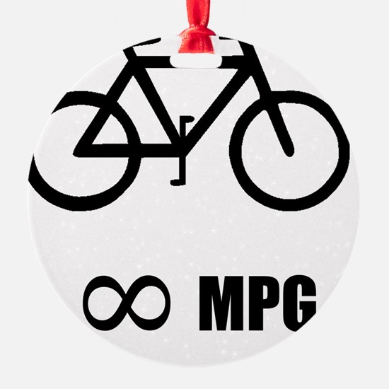 Bicycle MPG Ornament