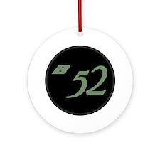 B-52 Round Ornament