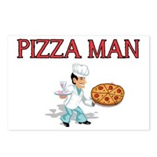 pizza man Postcards (Package of 8)