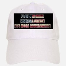 Freedom Not Government BF Baseball Baseball Cap