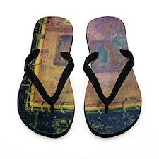 Pathos Avatar Oil on Canvas Ben Zoltak Flip Flops