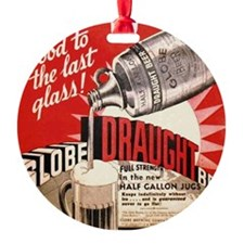 Globe Draught Beer Ornament