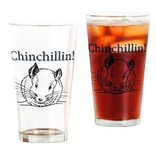 Chinchillin Drinking Glass