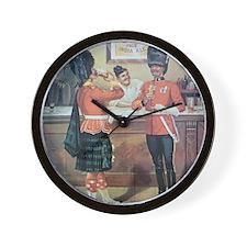 McEwans Ale Poster Wall Clock