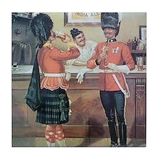 McEwans Ale Poster Tile Coaster