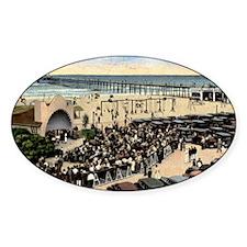 Oceanside (California) Beach Concer Decal