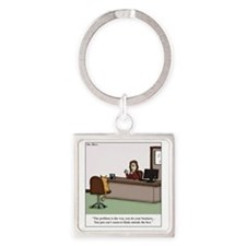 Do your business Square Keychain