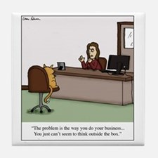 Do your business Tile Coaster