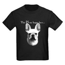 Frenchie Happy Face T