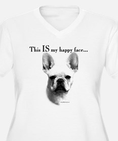 Frenchie Happy Face T-Shirt