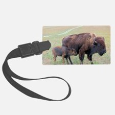 Bison in the Spring Luggage Tag