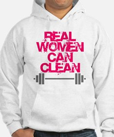 Real Women Can Clean (Pink) Hoodie