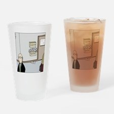 Excuses box Drinking Glass
