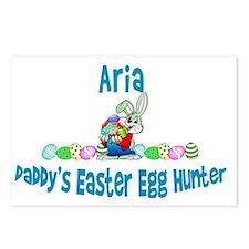 EasterHuntDaddy_aria Postcards (Package of 8)
