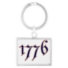 1776 Landscape Keychain