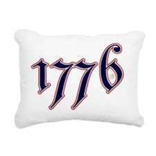1776 Rectangular Canvas Pillow