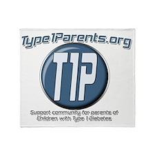 new T1P Throw Blanket