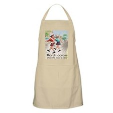 British Safety Poster - School Apron