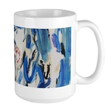 Shark Burst By Artist Ben Zoltak Mug