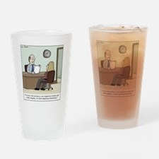 Competence Threat Drinking Glass