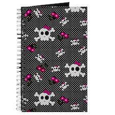 Girly Skulls Journal