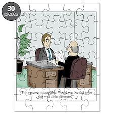 Resume Lie Puzzle