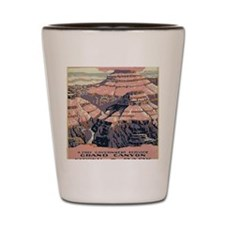 Grand Canyon 1920s Shot Glass