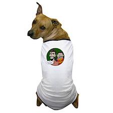 Black-10x10-Quote 8 Dog T-Shirt