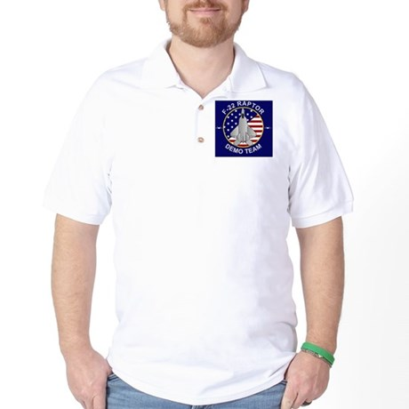 F-22 Raptor Demo Team Golf Shirt