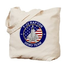 F-22 Raptor Demo Team Tote Bag