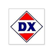 """DX gasolined Square Sticker 3"""" x 3"""""""