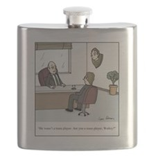 Are you a team player? Flask