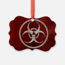 biohaz-steelwood-OV Ornament