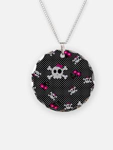 Girly Skulls Necklace