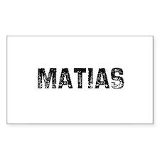 Matias Rectangle Decal