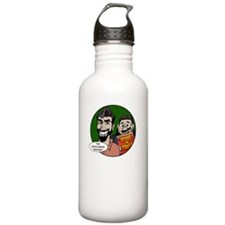 Black-10x10-Quote 1 Water Bottle