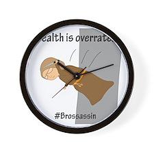 Brossassin Stealth Wall Clock